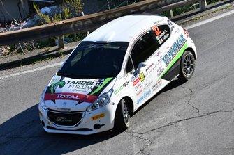 Cristopher Lucchesi Jr, Marco Pollicino, Peugeot 208 R2 #32, Asd Rally Revolution