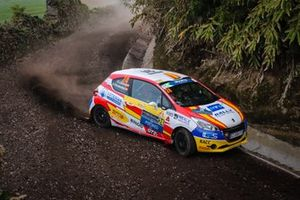 Efren Llarena, Sara Fernandez, Peugeot 208 R2, Rally Team Spain
