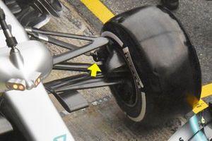 Mercedes-AMG F1 W10 detalle