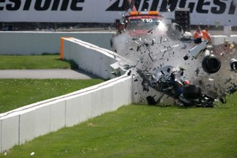 Robert Kubica, BMW Sauber F1.07 crashes