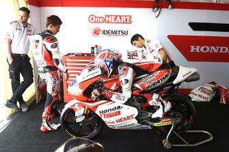 Kaito Toba, Honda Team Asia, Ai Ogura, Honda Team Asia, Aoyama