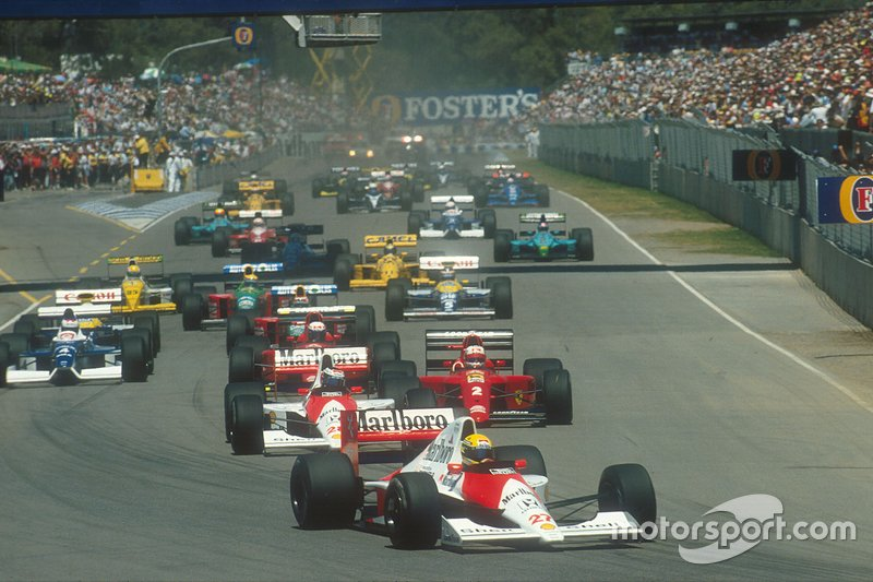 Carrera número 500: GP de Australia 1990