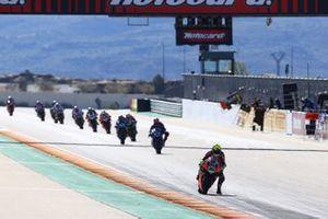 Alvaro Bautista, Aruba.it Racing-Ducati Team after lap1