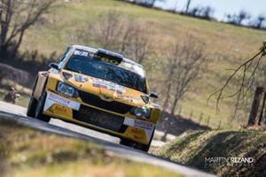 Gregoire Hotz, Pietro Ravasi, Skoda Fabia R5, Lugano Racing Team