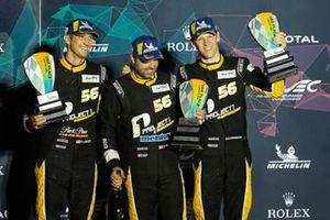 3. GTE-Am: #56 Team Project 1 Porsche 911 RSR: Jörg Bergmeister, Patrick Lindsey, Egidio Perfetti