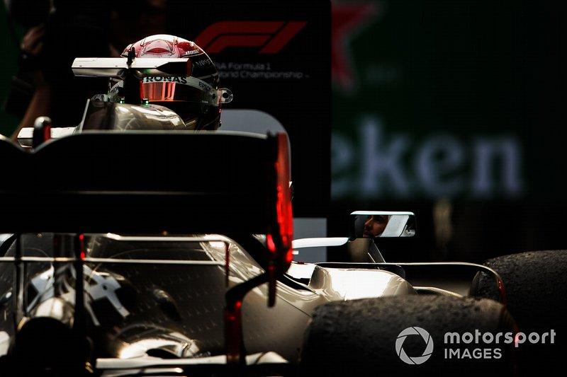 The car of winner Lewis Hamilton, Mercedes AMG F1 W10