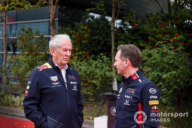 Helmut Markko, Konsultan, Red Bull Racing, Christian Horner, Team Principal, Red Bull Racing