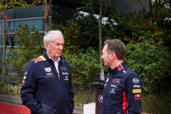Helmut Markko, Consulente, Red Bull Racing e Christian Horner, Team Principal, Red Bull Racing