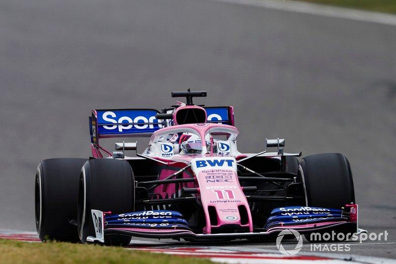 Серхіо Перес, Racing Point RP19