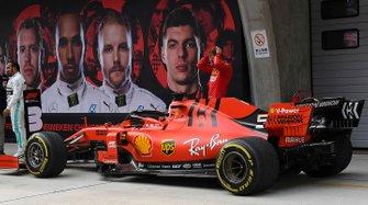 Обладатель третьего места Себастьян Феттель, Ferrari SF90