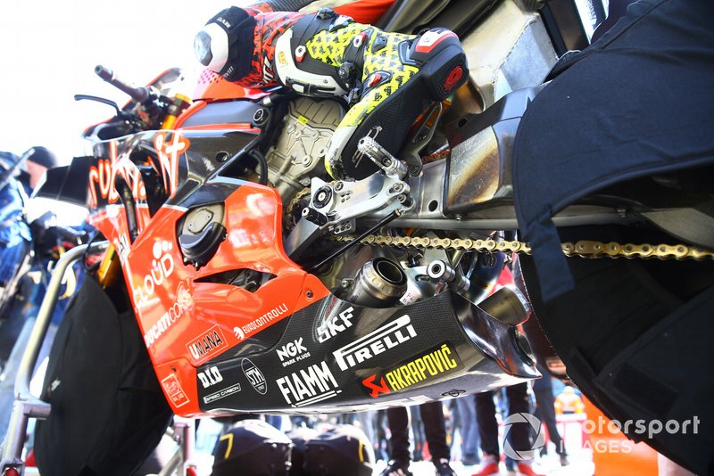 Akrapovic, Alvaro Bautista, Aruba.it Racing-Ducati Team bike