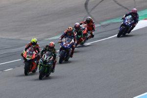 Jonathan Rea, Kawasaki Racing, Alvaro Bautista, Aruba.it Racing-Ducati Team, Michael van der Mark, Pata Yamaha