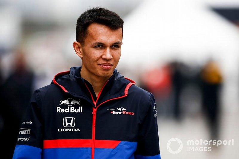 Schanghai: Alexander Albon (Toro Rosso )