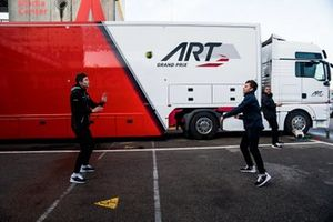 Max Fewtrell, ART Grand Prix, Christian Lundgaard, ART Grand Prix
