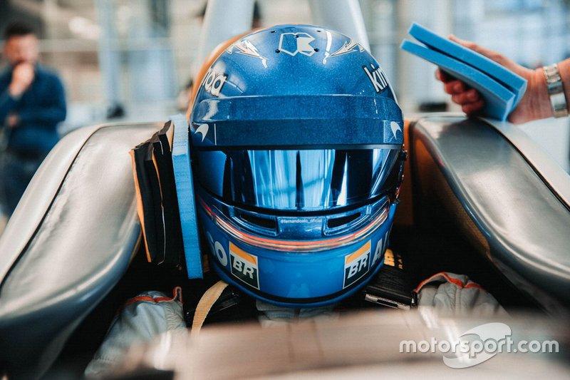 Fernando Alonso üléspróbája