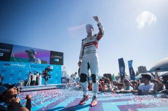 Daniel Abt, Audi Sport ABT Schaeffler sur le podium