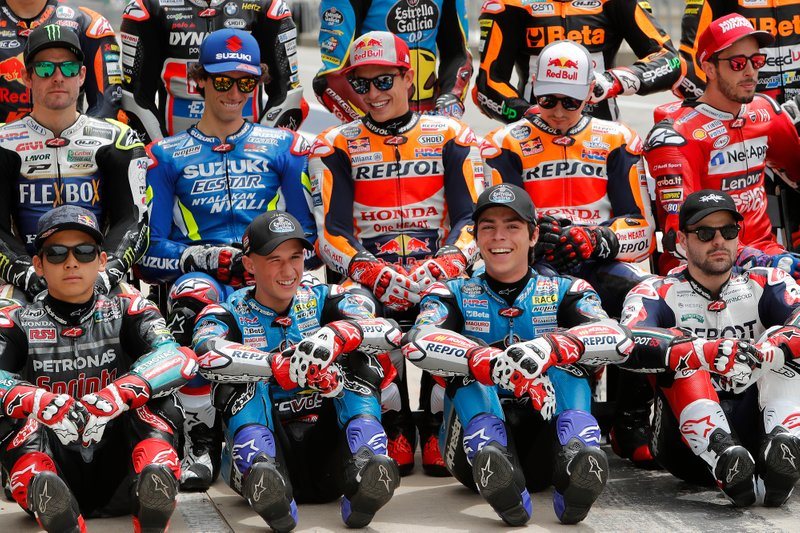 Cal Crutchlow, Team LCR Honda, Alex Rins, Team Suzuki MotoGP, Marc Marquez, Repsol Honda Team, Jorge Lorenzo, Repsol Honda Team