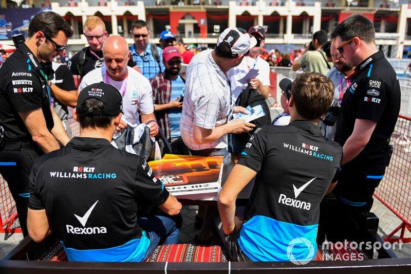 Роберт Кубіца, Джордж Расселл, Williams Racing