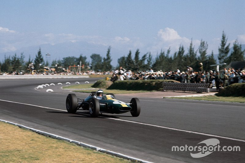 10: Jim Clark (Lotus) Mexico 1964