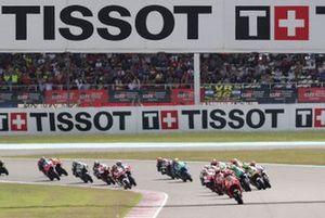 Renn-Action in Termas de Rio Hondo: Marc Marquez, Repsol Honda Team, führt