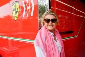 Corinna Schumacher, Mother of driver Mick Schumacher, Ferrari and wife to F1 Champion Michael Schumacher