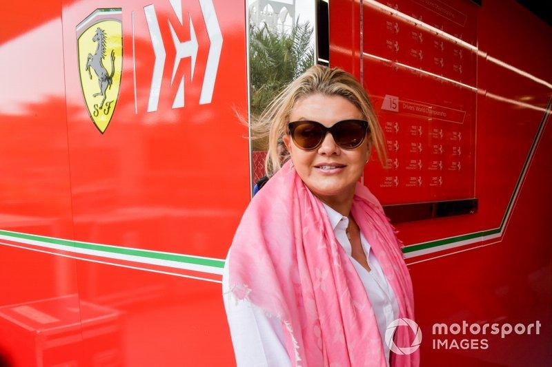 Corinna Schumacher, madre de Mick Schumacher, Ferrari