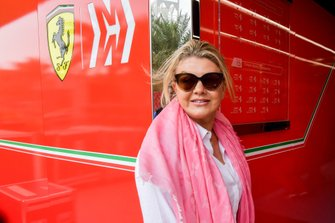 Corinna Schumacher, Mother of driver Mick Schumacher, Ferrari and wife to F1 Champion Michael Schumacher