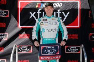 Pole sitter Tyler Reddick, Richard Childress Racing, Chevrolet Camaro Hurdl