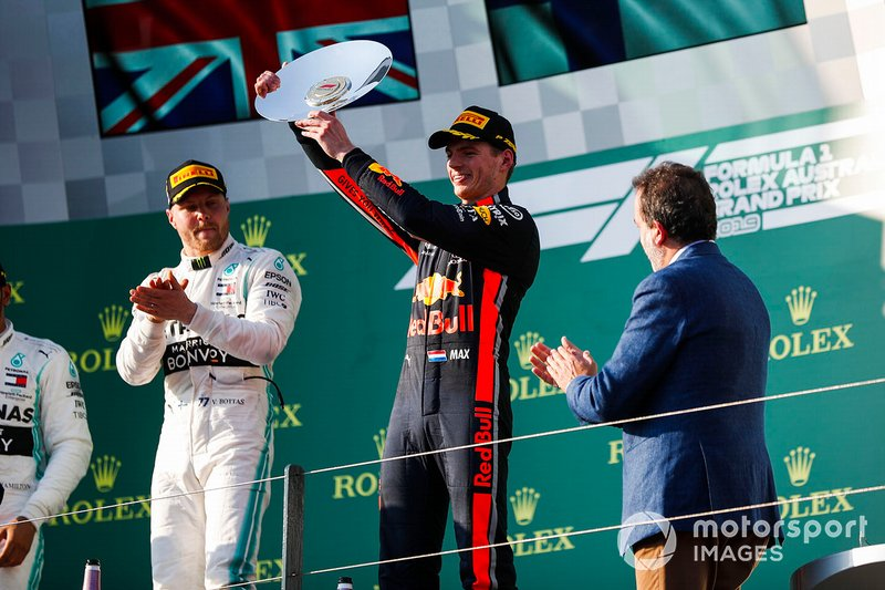 Podyum: 3. Max Verstappen, Red Bull Racing