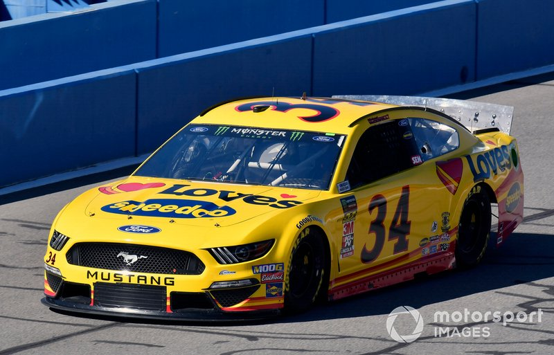29. Michael McDowell, Front Row Motorsports, Ford Mustang Love's Travel Stops
