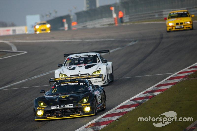 #13 Team Zakspeed Chrysler Viper GT3-R: Florian Strauß, Christian Mamerow, Jeroen Bleekemolen