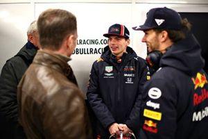 Max Verstappen, Red Bull Racing, Pierre Gasly, Red Bull Racing, Christian Horner, Teambaas, Red Bull Racing