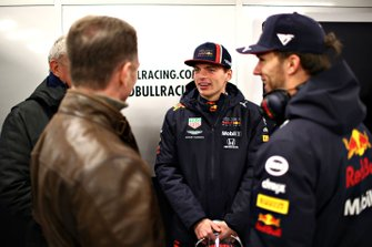 Max Verstappen, Red Bull Racing, Pierre Gasly, Red Bull Racing, Christian Horner, Teambaas, Red Bull Racing