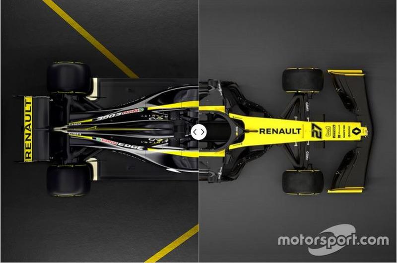 Renault R.S.18 vs. R.S.19