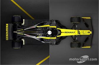 Renault R.S.18 vs. R.S.19 vergelijking