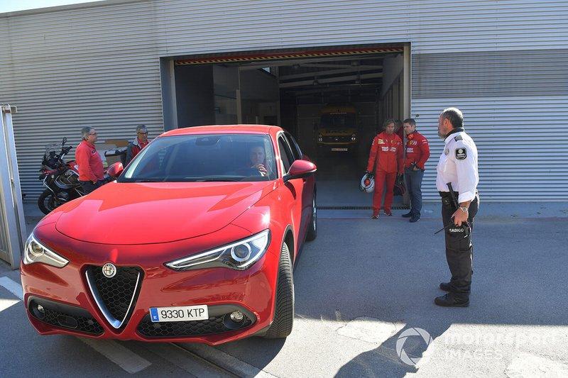L'Alfa Romeo Stelvio lascia il Centro Medico