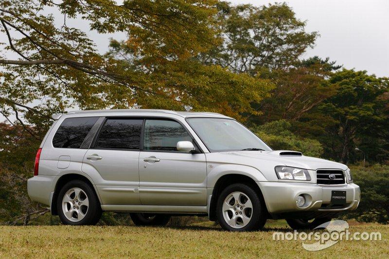 Subaru Forester другої генерації, роки виробництва: 2002–2007.