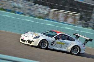 #30 MP1B Porsche GT3 Cup driven by Eric Johnson & Ernie Francis Jr. of ANSA Motorsports