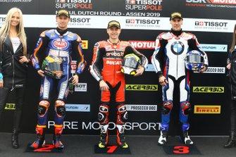 Michael van der Mark, Pata Yamaha, Alvaro Bautista, Aruba.it Racing-Ducati Team, Markus Reiterberger, BMW Motorrad WorldSBK Team