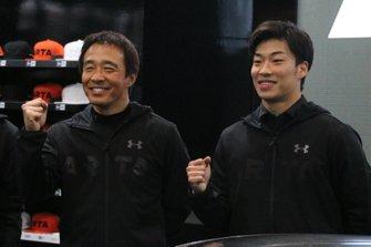 高木真一、福住仁嶺(#55 ARTA NSX GT3)