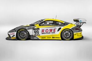 Decoración Rowe Racing
