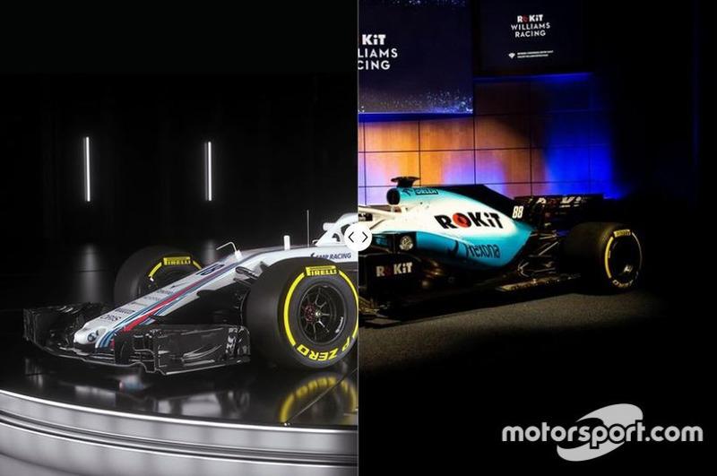 Comparación Williams FW41 vs. FW42