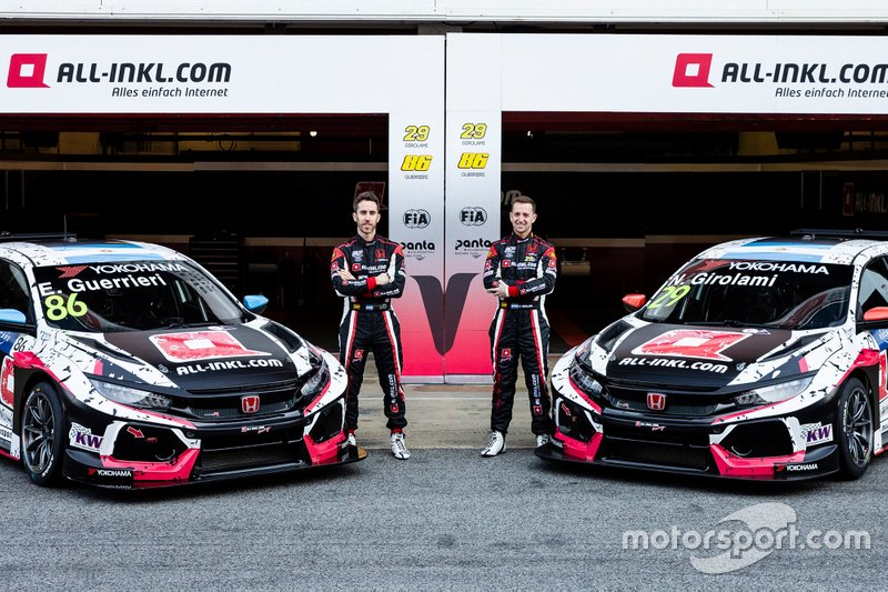 Esteban Guerrieri, ALL-INKL.COM Münnich Motorsport Honda Civic Type R TCR, Néstor Girolami, ALL-INKL.COM Münnich Motorsport Honda Civic Type R TCR