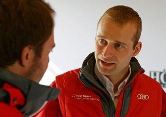 #10 Audi Sport Team WRT Audi R8 LMS GT3 Evo: Christopher Haase