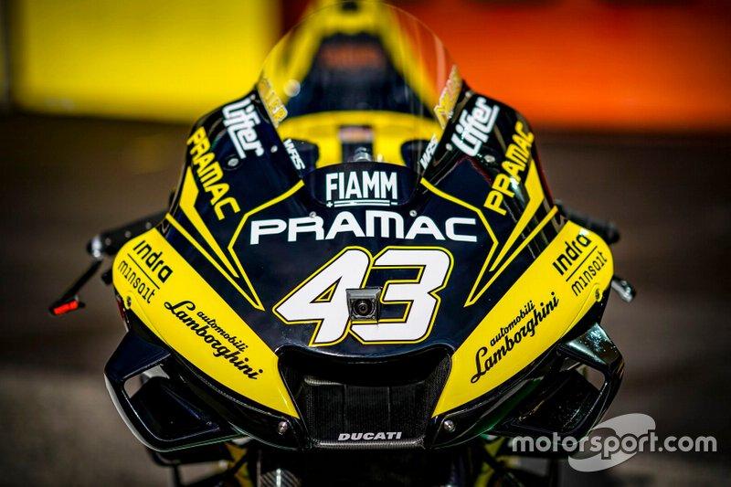 Jack Miller, Pramac Racing Livrea Lamborghini