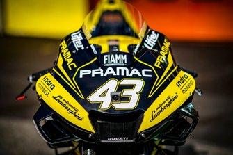 Jack Miller, nueva decoración Pramac Racing