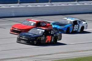 Mike Harmon, Mike Harmon Racing, Chevrolet Camaro Woobies Shoes and Cody Ware, B.J. McLeod Motorsports, Toyota Supra