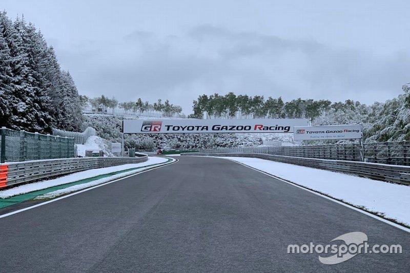 Nieve en Spa-Francorchamps