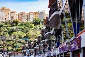 Monaco pit building