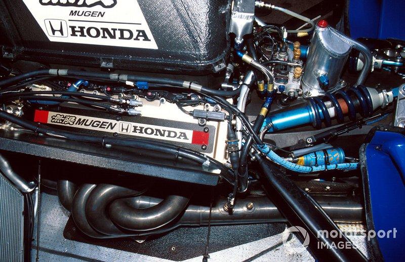 Détails du moteur de la Ligier JS43 Mugen Honda